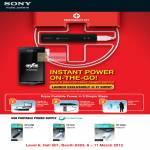 Sony USB Portable Power Supply CycleEnergy CP-ELSB, CP-ELS, CP-A2LS