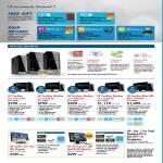 Desktop PC Pavilion Elite HPE Features P2-1191d, Slimline S5-1110d, S5-1140d, S5-1150d, H8-1170d, X2301 LED Monitor, 2311gt 3D Monitor