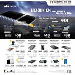 MiLi IPhone IPad Portable Battery Charger Power Matrix, Cooper, IBox, Sunny, Photo Printer, Shine, Crystal, Spiring, Skin, Angel