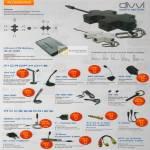 Sonicgear Accessories Ion Battery BL-5C 1000, Mic DM 110, DM120, DM 150MG, MM 100, DM 200, HS 100 MG, HS 110, Mobile Link 75 Pro, Y-Connector