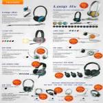 Sonicgear Headsets Loop IIx, Loop IIm, Loop IIIx, XBS 330, BS 280, BS 200, HS 2000 Pro, Krypton HS 900, HS 555