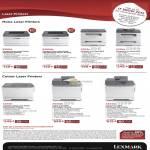 Printers Laser E260d, E260dn, X203n, X204n, C540n, X543dn, X544dn