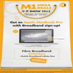 M1 Broadband Fibre 200mbps Apple Macbook Pro