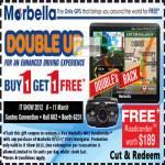 Maka Marbella Coupon GPS INav 510tx Navigator Free MR2 Roadcorder