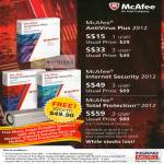 Antivirus Plus 2012, Internet Security 2012, Total Protection 2012