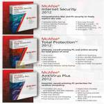 Internet Security 2012, Total Protection 2012, Antivirus Plus 2012