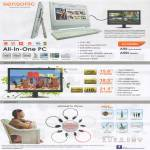 Sensonic AIO Desktop PC, LED Monitor, Headset