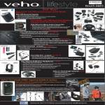 Veho 360 Bluetooth Speaker, Muvi Pro Camcorder, Saem Bluetooth Car Kit, USB Microscope, Pebble Smartstick, Mini, Headphone, Earbud, Gumball 3000