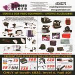 Video Equipments, Studio, DSLR, Tripod, Strap, Hercules, Charger