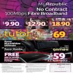 Fibre Broadband 100Mbps, Razer BlackWidow Ultimate, AC Ryan Veolo Media Box, Gamer