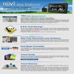 GPS Nuvi Features, TMC, ERP, Lane Guidance, Dual Maps, Travel Guide