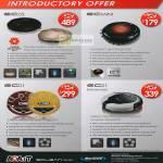 Navicom Robotic Vacuum Cleaner EC02, EC Mini, EC01, EC01 Enhanced