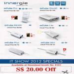 Innergie MCube Pro, SLim95, Lite, Plus, Mini