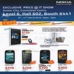 Smartphones Mobile Lumia 800, Nokia 603, Nokia 500, Nukia Lumia 710, Nokia 700