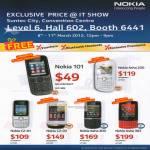 Smartphones Mobile Nokia 101, Asha 200, C2-01, C2-03, Asha 300, Asha 303