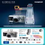 Digital Camera E-P3, Double Zoom Kit, Single Lens Kit