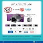 Digital Camera E-PM1, Single Lens Kit