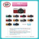Digital Camera XZ-1, Leather Skin, Accessories