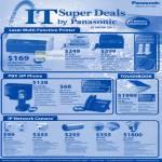 Printers Laser KX-MB1500CX, KX-MB2025CX, KX-MB2030CX, SIP Phone KX-TGP500, CF-S9 Toughbook Notebook, IPCam WV-SF135E, WV-SC385