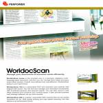 WorldocScan Scanner Features, Business Card, PDF