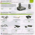 Iogear Wireless HDMI Kit GUWAVKIT2, GUWAVKIT3, KVM Switches, Accessories Cables