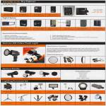 SLR Accessory Dry Cabinet, Genius LED Video Flash Light, Genius Strobe, Lighting Accessories
