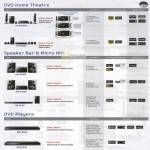 Samsung Mega Discount DVD Home Theatre, Speaker Bar, Micro Hifi, Players