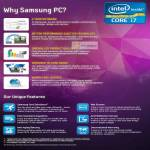 Notebooks Why Samsung PC, Features
