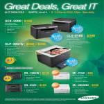 Printers Laser SCX-3200, CLX-3185, CLP-325 W, ML-1865W, ML-2160, ML-2525, ML-2955ND