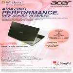 Singtel Acer Aspire V3-471G-73618G75Mn Notebook Specifications