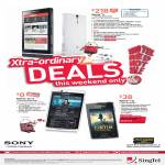 Singtel Mobile Sony Xperia S, Xperia Arc S, Xperia Ray