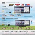 Bravia TV LED KDL-65HX925, KDL-55HX925, KDL-46HX925, KDL-55EX720, KDL-46EX720, KDL-40EX270, KDL-32EX720