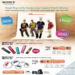 Walkman MP3 Player NWZ-B173F, NWZ-W262