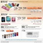 Walkman MP3 Player NWZ-E463, NWZ-E464, NWZ-E465, NWZ-A864, NWZ-A865, Digital Voice Recorder ICD-UX523, ICD-LX30