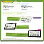 Mobile Broadband MaxMobile, Samsung Galaxy Tab 7.0 Plus, Galaxy Tab 7.7, 8.9, 10.1
