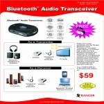Systems Tech Ranger Bluetooth Audio Transceiver