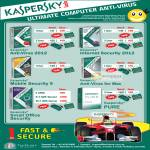 Kaspersky Anti-Virus 2012, Internet Security 2012, PURE, Small Office Security, Mobile Security 9, Anti-Virus For Mac Software