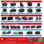Case Logic Photo Video Camera Bags, Case, Sling, Camcorder Case, Notebook Sleeve, IPad Case, Backpack, Attache, Messenger Bag