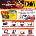 Free Gift, Shure SRH 240, 440, 840, 750DJ, Panasonic Technics RP-DH1200, RP-HTF600, RP-HTX7, RP-DJ120