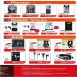 Pioneer Headphones, Panasonic, Technics, RP-HJE70 Earphones, AKG K-141 MKII , K-240 Studio, K-171, K-321, K-172HD