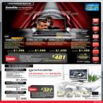Notebooks Satellite P745-1013X, P745-1022X, P745-1016X, P755-1002X, Qosmio AIO Desktop PC Dx730-1001X, DX730-1009X, DX730-1005X