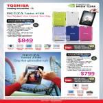 Tablet Regza AT100-10003G PDA01L-00Q033, AT1S0-10003G PDA03L-00F004