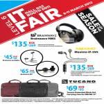 Headphones Earphones Brainwavz HM5, Maximo IP-595, ProAlpha, M4, Tucano Bags