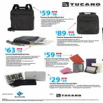 Tucano Bags Vertical Work Out, Expanded BackPack, Multitasking Case, Cornice IPad2 Case, Elements Second Skin