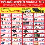 Worldwide Computer Accessories USB, HDMI, Keyboard Protector, Cool Ball, Micro Sim, Vacuum Cleaner, Case, Hub, Battery, Skin, HSDPA Modem, FM Radio, Skin, Fan