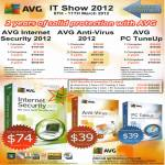AVG Internet Security 2012, Anti-Virus 2012, PC TuneUp Software