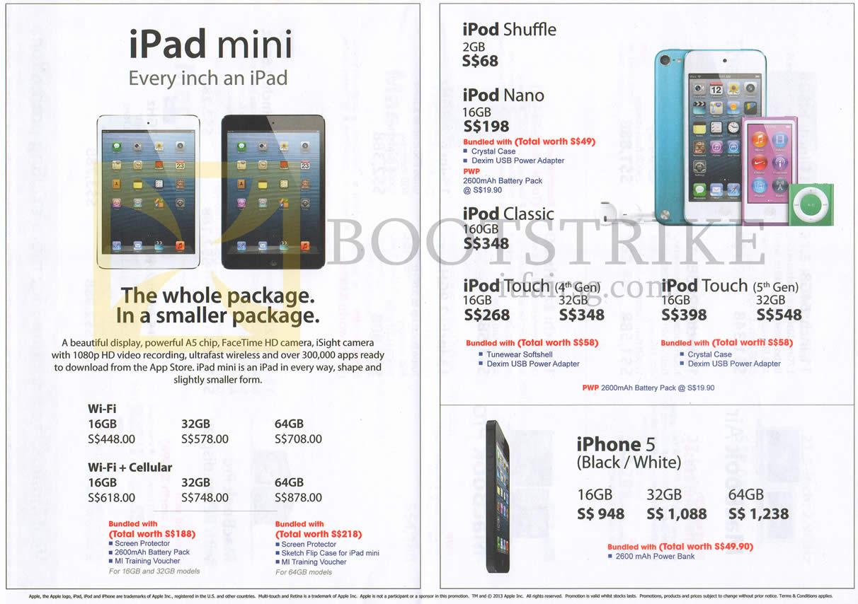 Multimedia Integrated Apple Ipad Mini Tablet Wi Fi Cellular Ipod