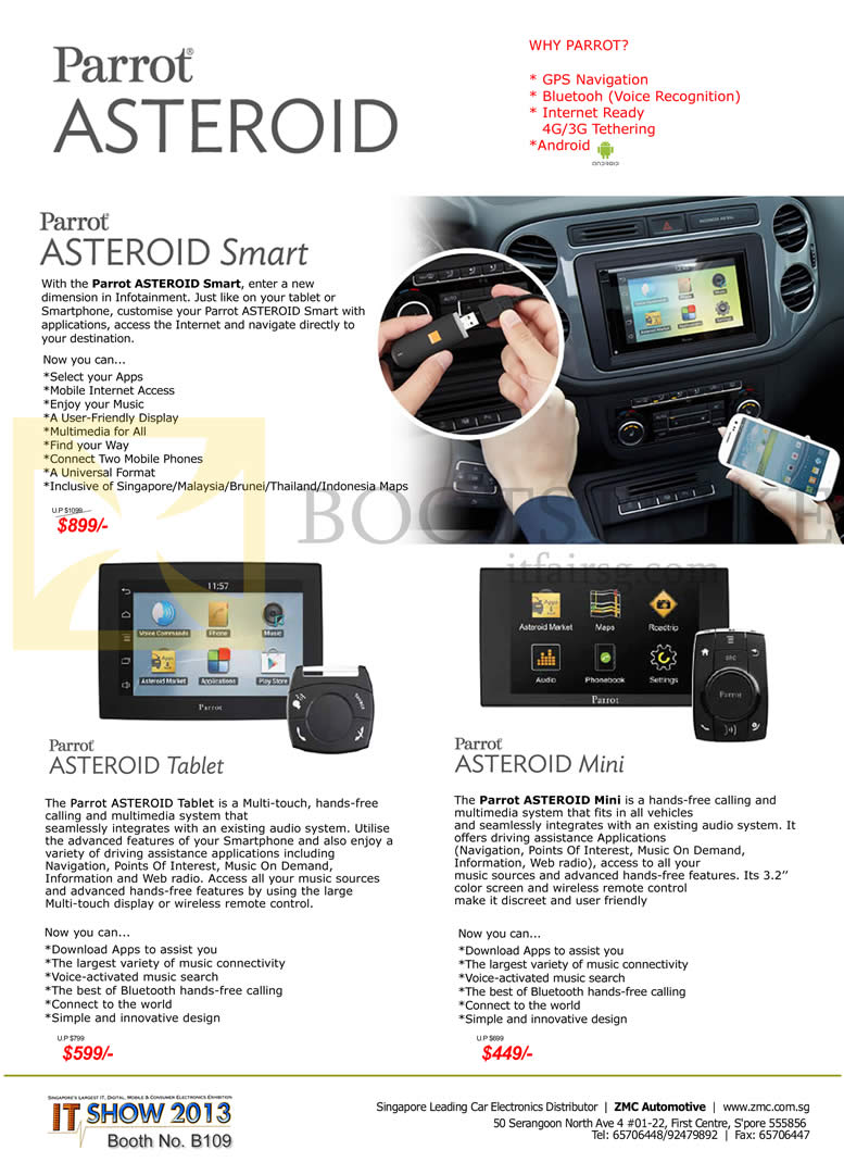 Parrot asteroid mini pics about space zmc automotive parrot aste greentooth Choice Image