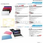 Notebooks K45VD-VX299H VX300H VX301H VX302H VX303H, K55VD-SX731H SX732H SX733H, A45VS-VX007H, A55VJ-SX118H, Tablet VivoTab Smart ME400C ME400CL 3G
