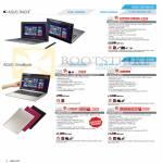 Notebooks Taichi TAICHI21-CW011P, Vivobook X202E-CT009H, S200E-CT158H CT163H CT177H, S400CA-CA022H, S300CA-C1012PS, S550CM-CJ055H